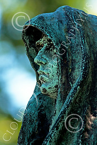 Sty-Cem 00021 A ghoulish cemetery statue, statue picture by Peter J Mancus
