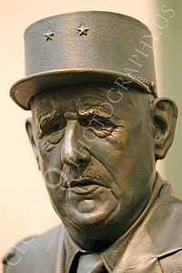 STY - de Gaulle 00008 A statuary portrait of French general and statesman Charles de Gaulle, by Peter J Mancus