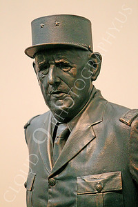STY - de Gaulle 00004 A statuary representation of French general and statesman Charles de Gaulle, by Peter J Mancus