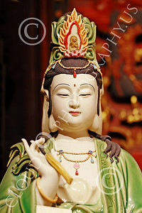 STY-CHIN 00009 An adorned Chinese female, statue picture by Peter J Mancus