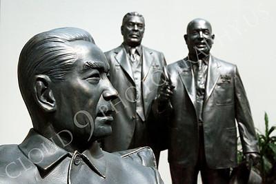 STY - Chou En-lai 00002 Three terrible dictators--China's Chou En-lai and the Soviet Union's Leonid Breznev and Nikita Khruschev, by Peter J Mancus