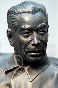 STY - Chou En-lai 00001 An artist's impression of communist China political leader Chou En-lai, by Peter J Mancus