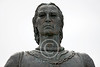 Christopher Columbus Statuary Pictures [1451-1506]: Italian explorer who realized Earth is round and sailed the Atlantic in 1492 hoping to find a route to India : Album Description: 