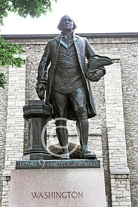 STY - GWASHINGTON 00005 A statue tribute to the first US president, George Washington, by Peter J Mancus
