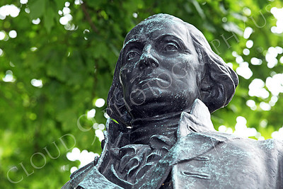 STY - GWASHINGTON 00020 An excellent upper torso artistic representation of the first US president, George Washington, by Peter J Mancus