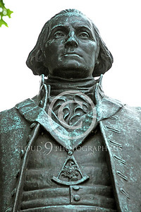 STY - GWASHINGTON 00013 An excellent artistic representation of the first US president, George Washington, by Peter J Mancus