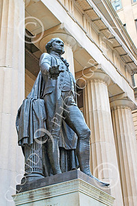 Sty - GEORGE WASHINGTON 00001 A statue of George Washington, first president of the United States, in New York City, by John G Lomba