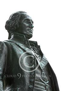 STY - GWASHINGTON 00015 An excellent artistic representation of the first US president, George Washington, by Peter J Mancus