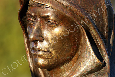 SpMis 00154 Mary's face shows anguish, heart ache, concern, worry, and sorrow, statuary at Mission San Louis Rey, by Peter J Mancus