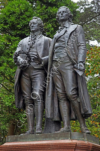 Sty - Goethe 00003 Friedrich von Schiller and Johann Wolfgang von Goethe, distinguished German authors, by Peter J Mancus