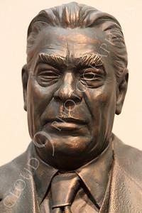 STY - Brezhnev 00006 Soviet dictator Leonid Brezhnev, wearing a tie and a suit, by Peter J Mancus