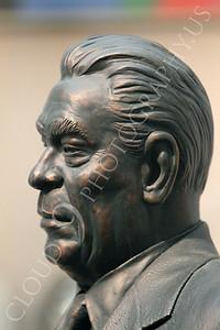 STY - Brezhnev 00005 A side portrait of Soviet dictator Leonid Brezhnev, by Peter J Mancus