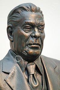 STY - Brezhnev 00001 A fine statuary impression of a Soviet Union dictator, Leonid Brezhnev, by Peter J Mancus