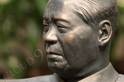 STY - Mao Tse-tung 00002 A statuary impression of a seated Mao Tse-tung, by Peter J Mancus