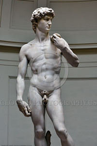 "STY-DAVID 003 A typical picture of Michelangelo's world famous art icon awesome statue of ""David"", statue picture by Peter J  Mancus"