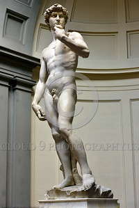 "STY-DAVID 007 Michelangelo's marvelous statue of ""David"" is a sterling symbol of liberty and Italian civic pride, statue picture by Peter J  Mancus"