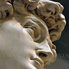 """STY-David 029 A tight crop of Michelangelo's David's"""" face, statue picture by Peter J  Mancus"""