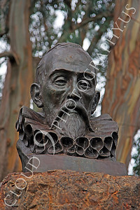 Sty - Cervantes 00005 Miguel de Cervantes Saavedra, Spanish author, by Peter J Mancus