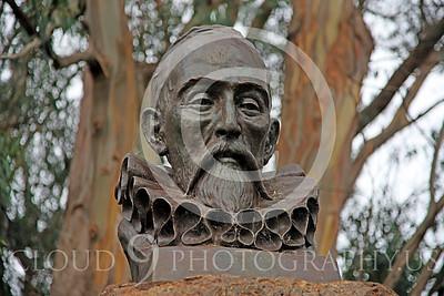 Sty - Cervantes 00002 Miguel de Cervantes Saavedra, Spanish author, by Peter J Mancus