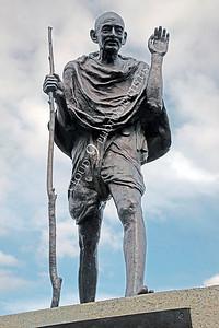 Mohandas K Gandhi 00019 by Peter J Mancus