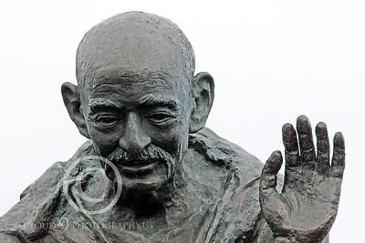 Mohandas K Gandhi 00028 by Peter J Mancus