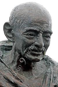 Mohandas K Gandhi 00025 by Peter J Mancus