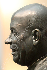 STY - Khrushchev 00003 A side profile portrait of an uncouth, communist, Soviet Union, Cold War era, dictator, Nikita Khruschchev, by Peter J Mancus