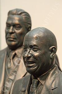 STY - Khrushchev 00008 Communist Soviet Union Cold War era dictator Nikita Khruschchev with Soviet dictator Leonid Brezhnev, by Peter J Mancus