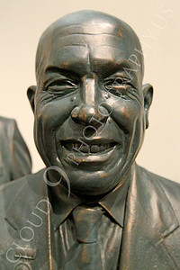 STY - Khrushchev 00009 Communist Soviet Union Cold War era dictator, Nikita Khruschchev, with a smile, by Peter J Mancus