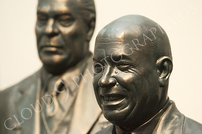STY - Khrushchev 00004 Communist Soviet Union Cold War era dictators, Nikita Khruschchev with Leonid Brezhnev, by Peter J Mancus