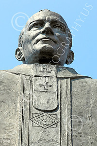 STY - POPEJP 00011 An excellent artistic representation of the beloved Roman Catholic Pope John Paul, by Peter J Mancus