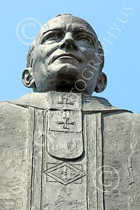 STY - POPEJP 00011 An excellent artistic representation of the beloved Roman Catholic Pope John Paul, by Peter J Mancus