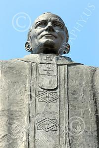 STY - POPEJP 00001 An excellent artistic representation of the beloved Roman Catholic Pope John Paul, by Peter J Mancus