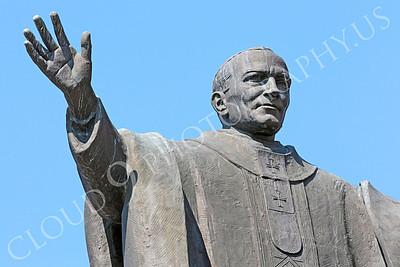 STY - POPEJP 00010 An excellent artistic representation of the beloved Roman Catholic Pope John Paul, by Peter J Mancus