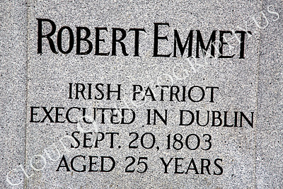 Sty - Robert Emmet 00002 Robert Emmet, Irish patriot, memorial inscription, by Peter J Mancus
