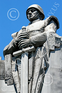 STY-RomMil 00011 An impressive artistic statue dedication in Bucharest to Romanian military heroes who died on duty, statue picture by Peter J Mancus