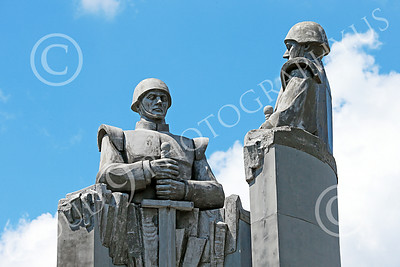 STY-RomMil 00004 An impressive artistic statue dedication in Bucharest to Romanian military heroes who died on duty, statue picture by Peter J Mancus