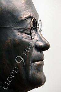 STY - Yoshida 00010 Side profile of Japanese post-World War II prime minister Shigeru Yoshida, by Peter J Mancus