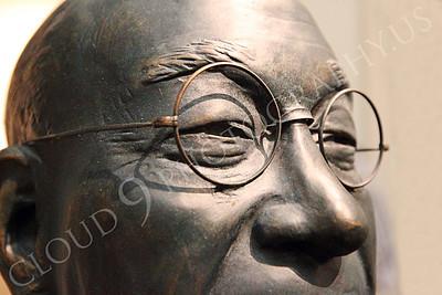STY - Yoshida 00004 A close up portrait of a bespeckled Japanese post-World War II prime minister Shigeru Yoshida, by Peter J Mancus