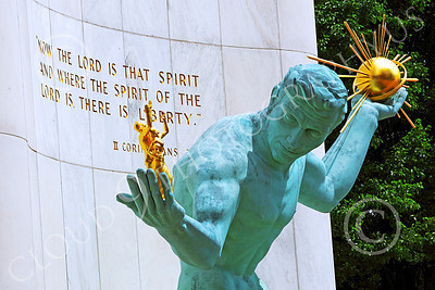 STY - DetSpirit 00001 This splendid Spirit of Detroit statue wisely promotes the core idea that the Lord is the ultimate source of liberty, by Peter J Mancus