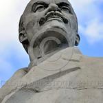 STY-VLenin 0003 A statue portrait of Russian communist revolutionary, politician, political theorist, and dictator Vladimir Lenin in Odessa, Ukraine, by Peter J  Mancus