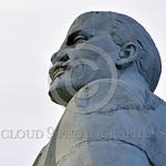 STY-VLenin 0004 Bolshevik leader Vladimir Lenin, ideological figurehead behind Marxism-Leninism, badly misunderstood what really motivates human beings, statue picture by Peter J  Mancus