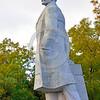 STY-VLenin 0005 One of few surviving Soviet era statues of Bolshevik leader Vladimir Lenin in Odessa, Ukraine, 2015, by Peter J  Mancus