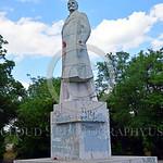 STY-VLenin 0017 A rare, surviving, Soviet era, unpopular in Odessa, Ukraine in 2015, large statue of revolutionary Russian communist party co-founder, dictator, and political-economic theori ...