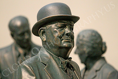 VIPS-Winston S Churchill 00008 England's Prime Minister Winston S Churchill among heads of state, by Peter J Mancus