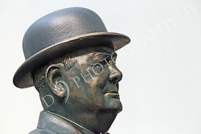 VIPS-Winston S Churchill 00010 A side profile portrait of England's Prime Minister Winston S Churchill, by Peter J Mancus
