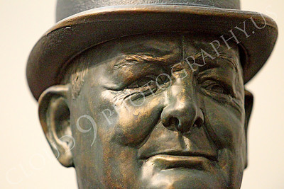 VIPS-Winston S Churchill 00018 A tight crop portrait of England's WWII Prime Minister Winston S Churchill, by Peter J Mancus