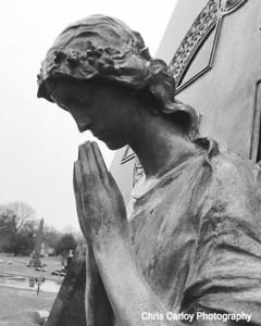 Stone Angel, Graceland Cemetary
