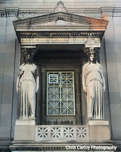 Caryatids, Museum of Science and Industry