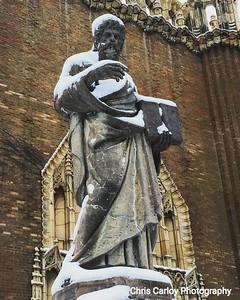 Statue, St. Thomas the Apostle Church